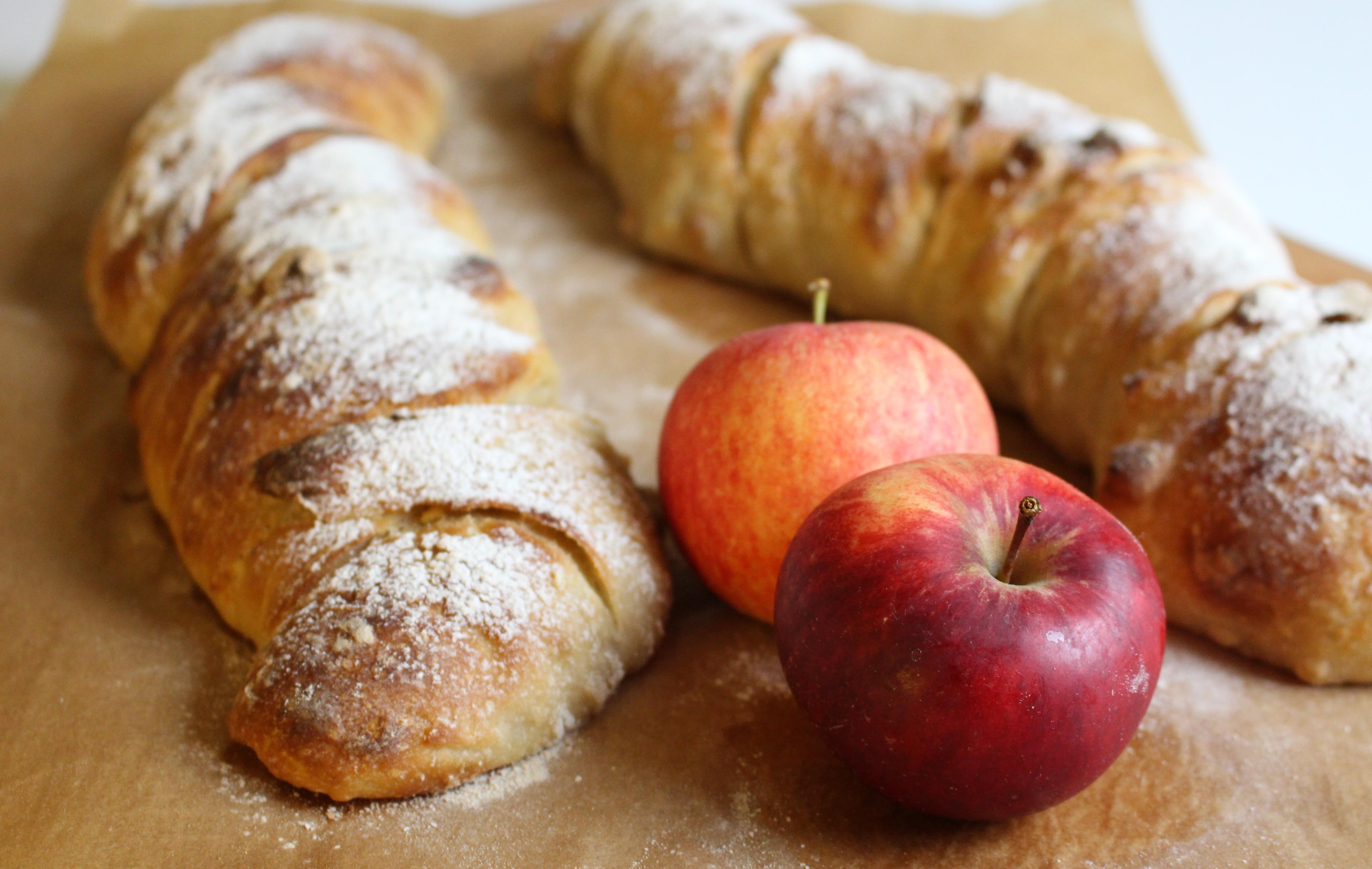 äppelbaguetter helt äpple