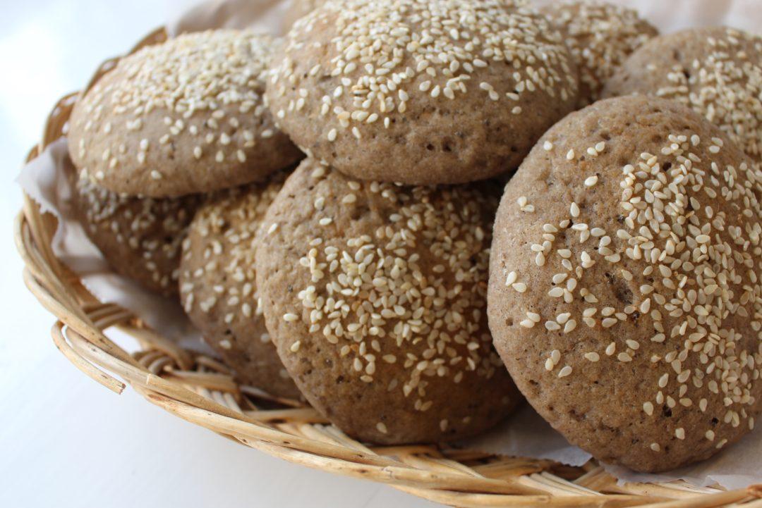 grova hamburgerbröd