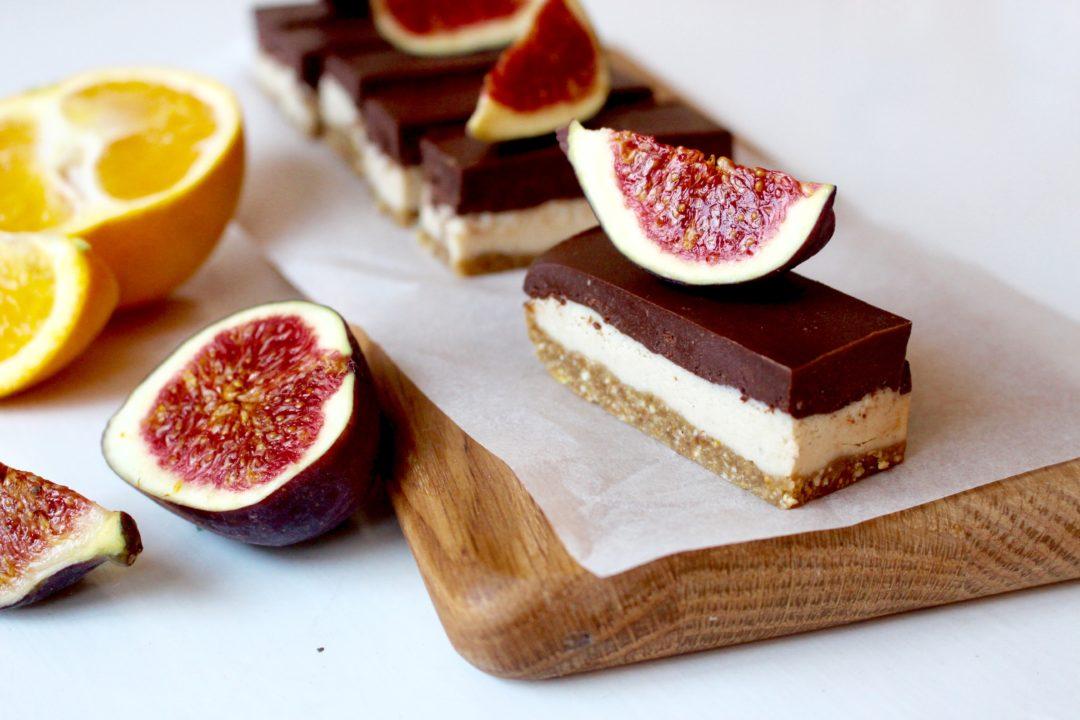 raw cheesecake choklad fikon