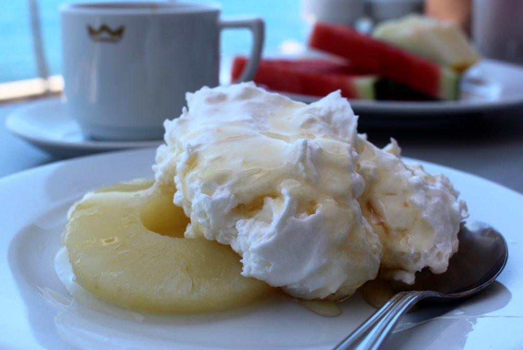 Kanarisk dessert - Mousse de gofio