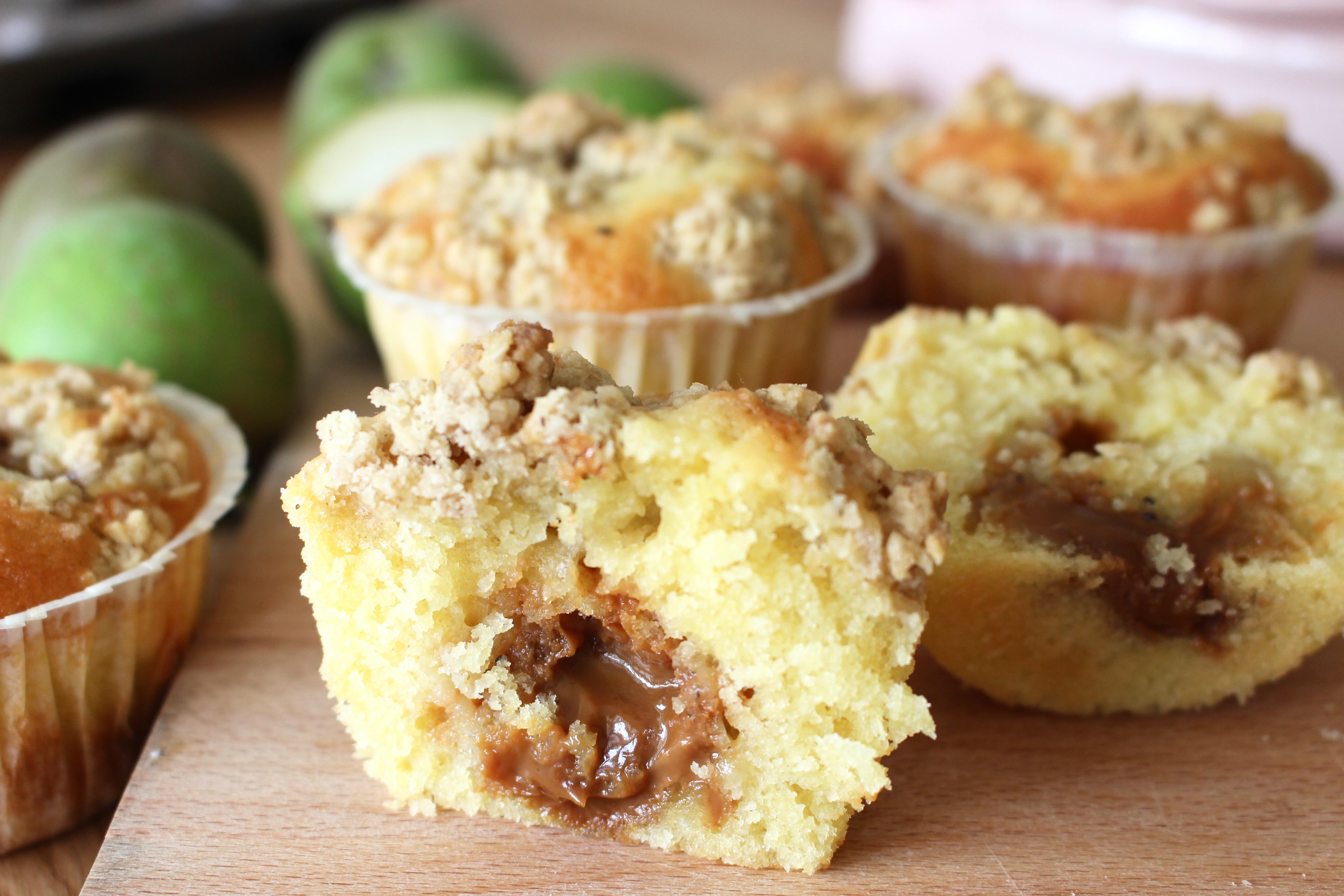 Kolafyllda muffins