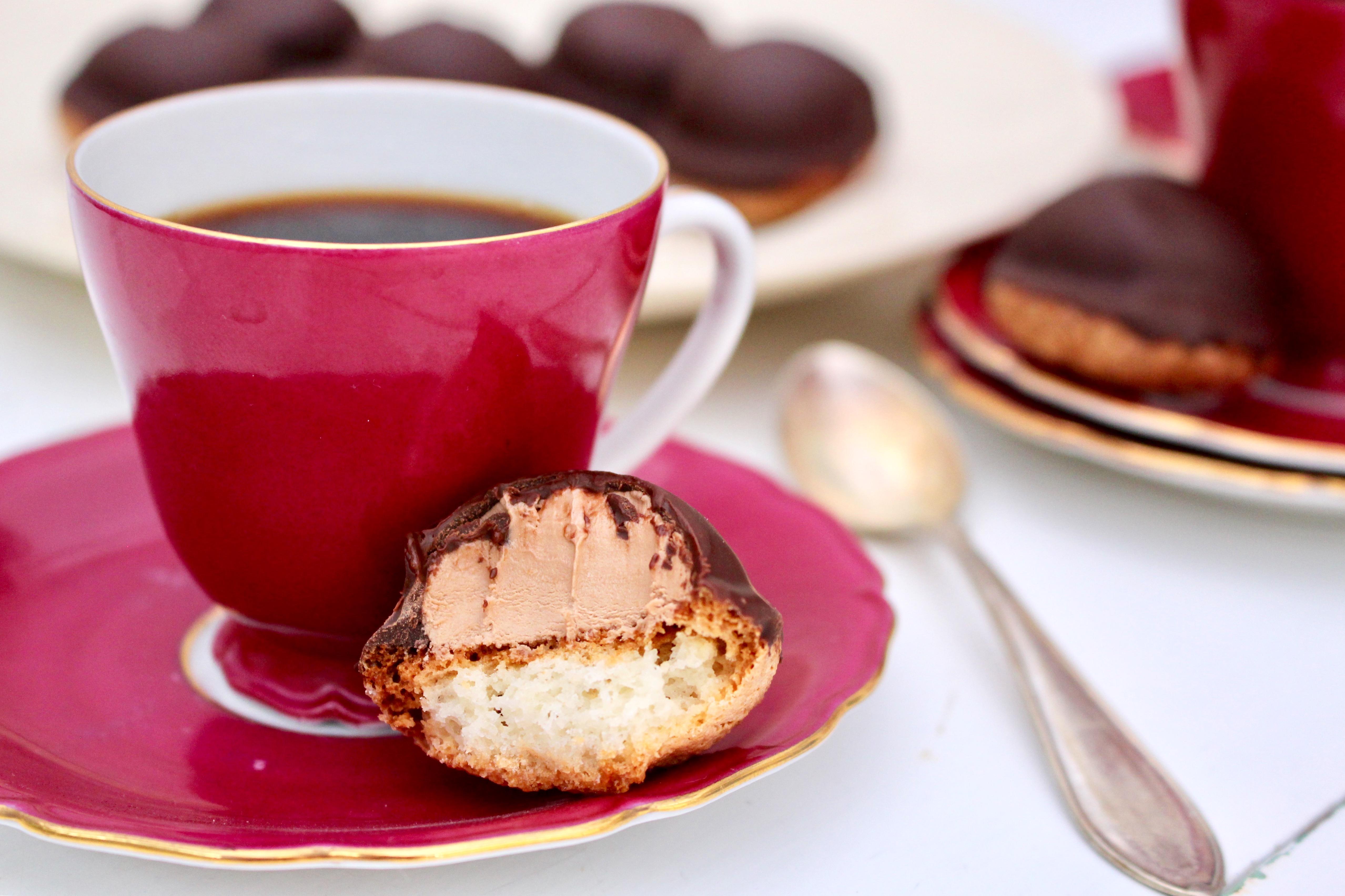 kaffe och biskvi