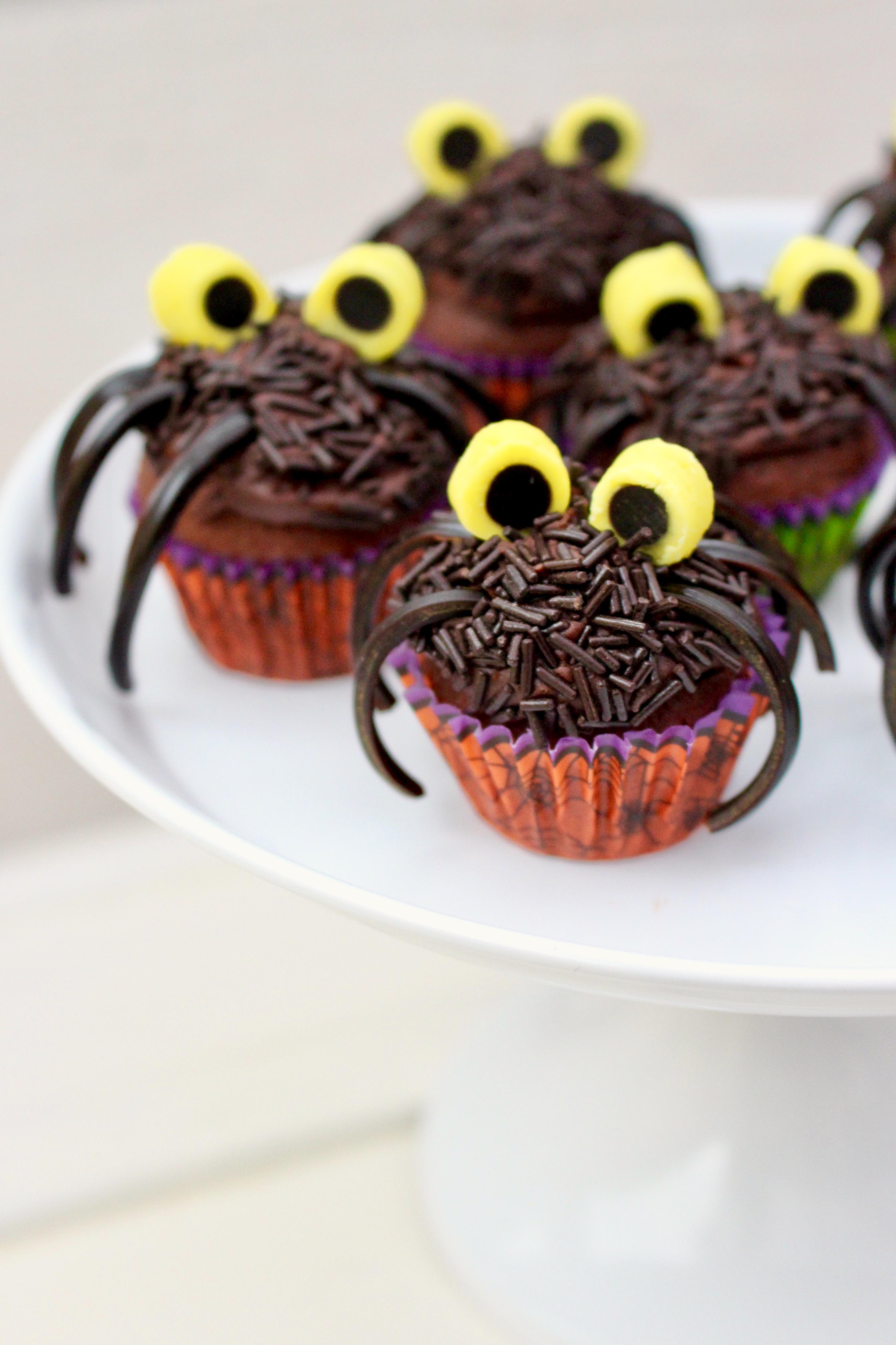 små spindelmuffins