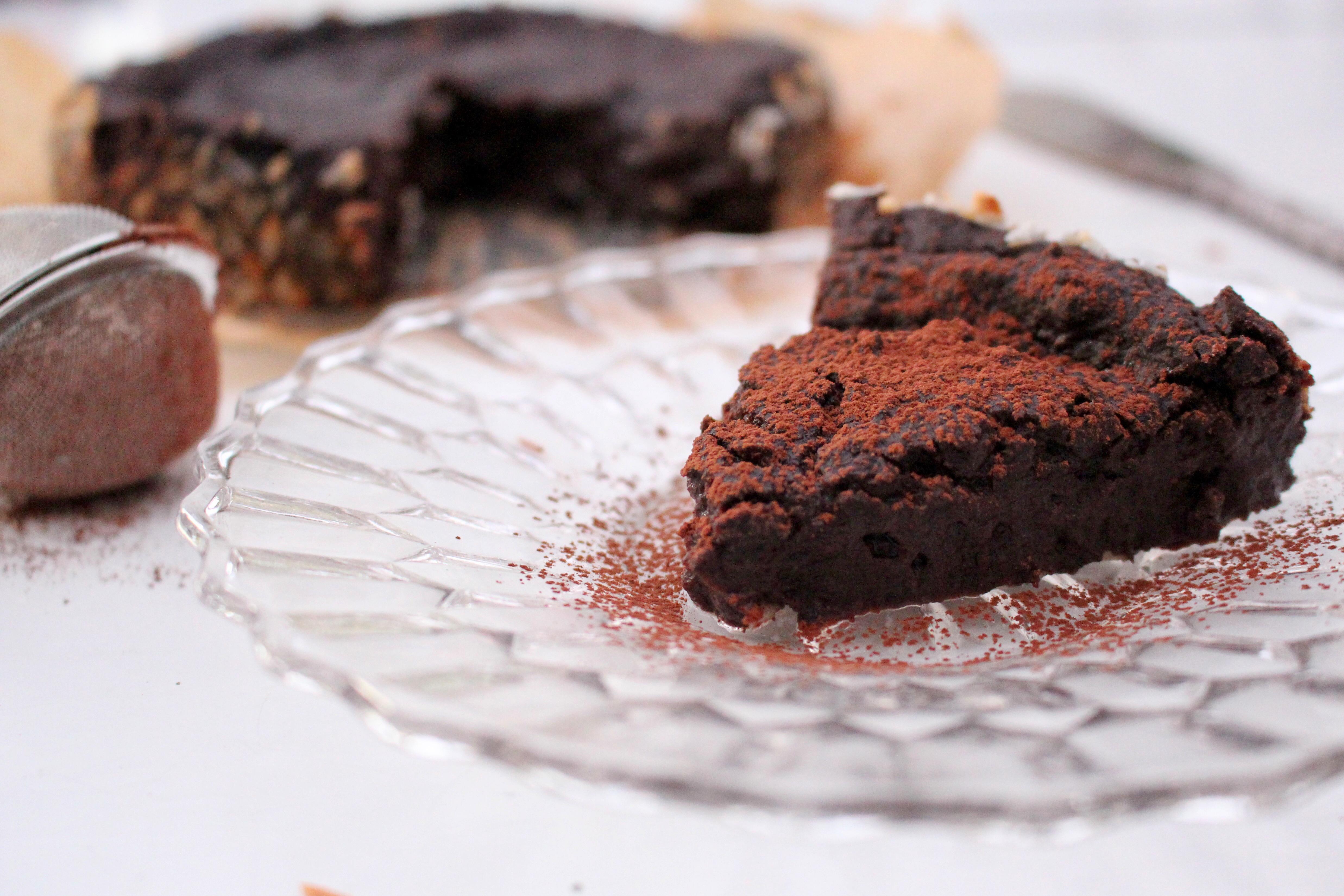 chokladkaka svarta bönor dadlar