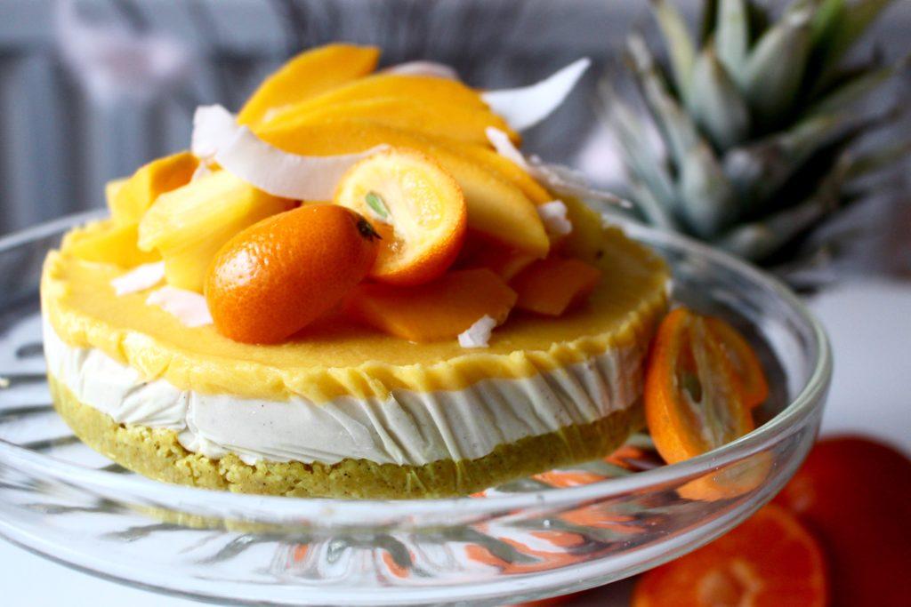 rawtårta mango