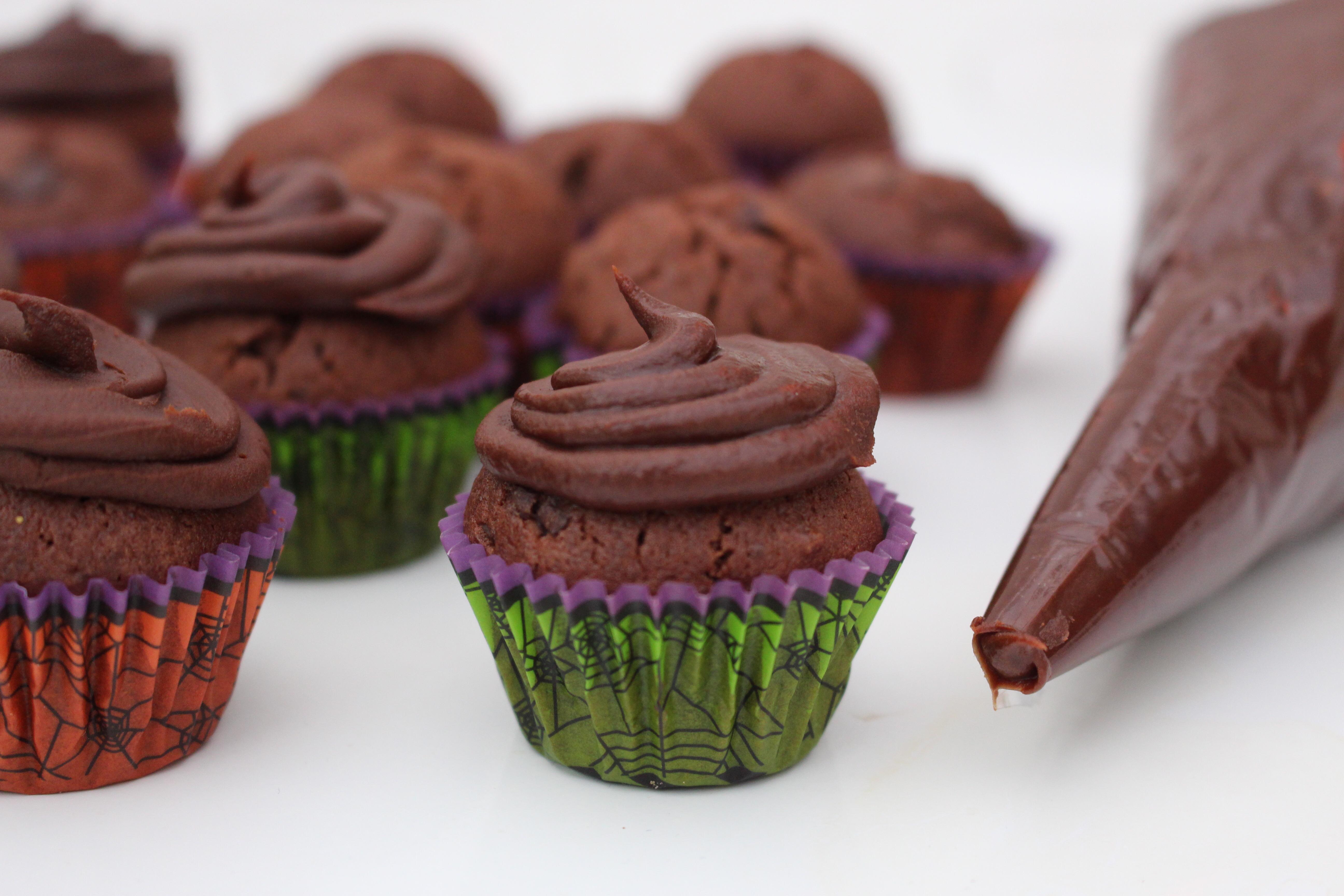 chokladmuffins med tryffel